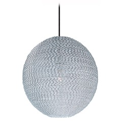 Maxim Lighting Twisp Polished Chrome Pendant Light with Globe Shade