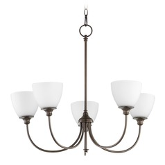 Quorum Lighting Celeste Oiled Bronze Chandelier