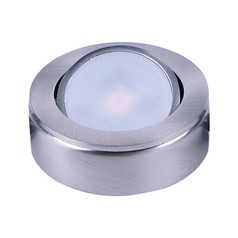 Maxim Lighting Countermax Satin Nickel 2.75-Inch LED Under Cabinet Puck Light