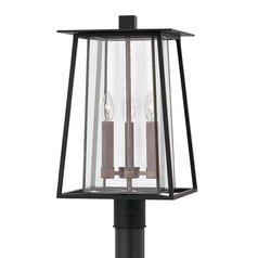 Black Post Light by Hinkley Lighting