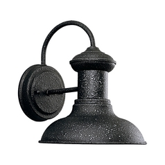Barn Light Outdoor Wall Iron Finish 8.31-Inch Wide by Progress Lighting