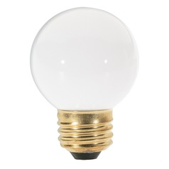 Incandescent G16.5 Light Bulb Medium Base Dimmable