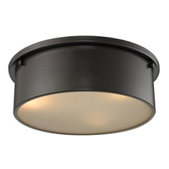 Elk Lighting Simpson Oil Rubbed Bronze Flushmount Light