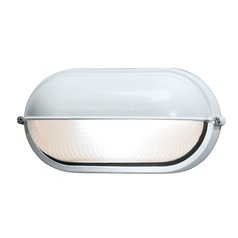 Access Lighting Nauticus White LED Outdoor Wall Light