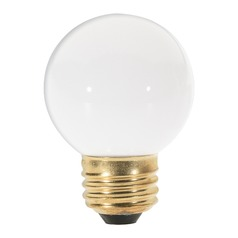 Incandescent G16.5 Light Bulb Medium Base 120V by Satco