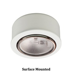 12V Xenon Puck Light Recessed / Surface Mount White by WAC Lighting
