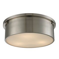 Elk Lighting Simpson Brushed Nickel Flushmount Light