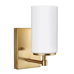 Sea Gull Lighting Alturas Satin Bronze Sconce
