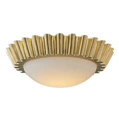 Troy Lighting Reese Gold Leaf LED Flushmount Light