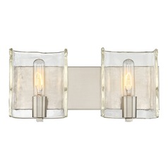 Savoy House Lighting Handel Satin Nickel Bathroom Light
