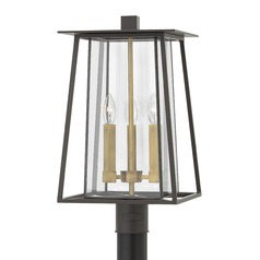 Bronze LED Post Light by Hinkley Lighting