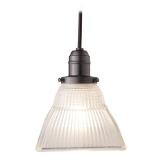 Hudson Valley Lighting Mini-Pendant Light with White Glass 3102-OB-45F