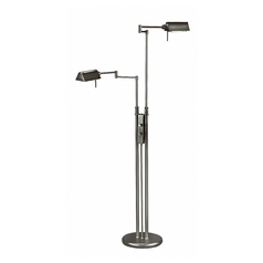 Modern Pharmacy Lamp in Black Finish
