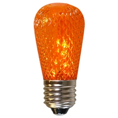 American Lighting Amber Color S14 LED Light Bulb - 10-Watt Equivalent