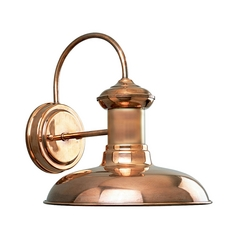Copper Barn Light Outdoor Wall  10-Inch Wide by Progress Lighting
