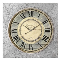 Uttermost Rue de Paris Square Wall Clock