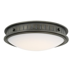 Capital Lighting Nash Gunmetal LED Flushmount Light