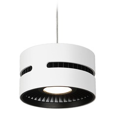 Modern White LED Mini-Pendant 3000K 1197LM