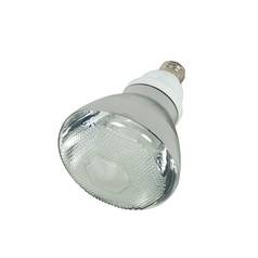 Satco Lighting 23-Watt BR38 Cool White Compact Fluorescent Reflector Light Bulb S7275