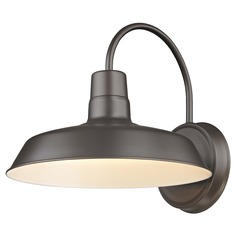 Barn Light Bronze 12-Inch Wide by Design Classics Lighting
