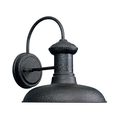 Barn Light Outdoor Wall Iron Finish 10-Inch Wide by Progress Lighting