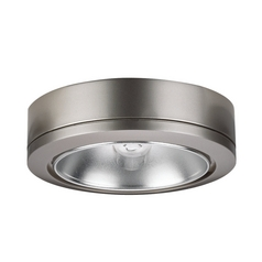 Sea Gull Lighting Brushed Nickel Under Cabinet Puck Light