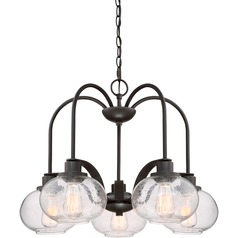 Seedy Glass Dinette Chandelier
