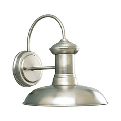 Barn Light Outdoor Wall Antique Nickel 10-Inch Wide by Progress Lighting
