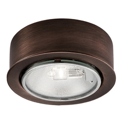 12V Halogen Puck Light Recessed / Surface Mount Bronze by WAC Lighting