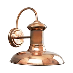 Progress Outdoor Wall Light in Copper Finish
