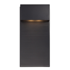 Modern Forms Hiline Black LED Outdoor Wall Light