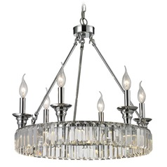 Elk Lighting Manning Polished Chrome Mini-Chandelier