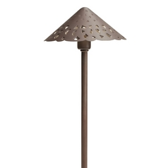 Kichler Path Light in Bronzed Brass Finish