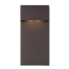 Modern Forms Hiline Bronze LED Outdoor Wall Light