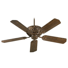 Quorum Lighting Windsor Corsican Gold Ceiling Fan Without Light