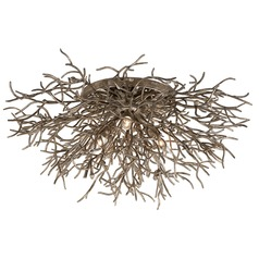 Troy Lighting Sierra Distressed Bronze Flushmount Light