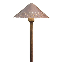 Kichler Path Light in Textured Tannery Bronze Finish