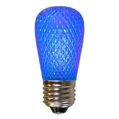 American Lighting Blue Color S14 LED Light Bulb - 10-Watt Equivalent