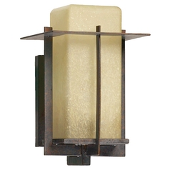 Quorum Lighting Mckee Toasted Sienna Outdoor Wall Light