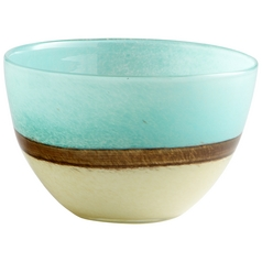 Cyan Design Turquoise Earth Blue Vase