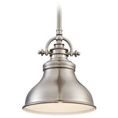 Quoizel Emery Brushed Nickel Mini-Pendant Light