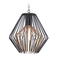 Kalco Metro I Bronze Gold Pendant Light