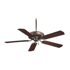 52-Inch Ceiling Fan Without Light in Oil Rubbed Bronze Finish