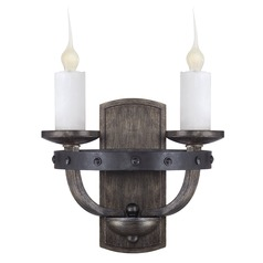 Savoy House Reclaimed Wood Sconce