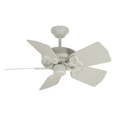 Craftmade Lighting Piccolo White Ceiling Fan Without Light