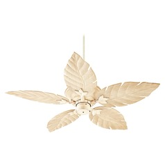 Quorum Lighting Monaco Persian White Ceiling Fan Without Light