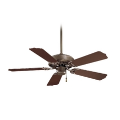 42-Inch Ceiling Fan Without Light in Oil Rubbed Bronze Finish