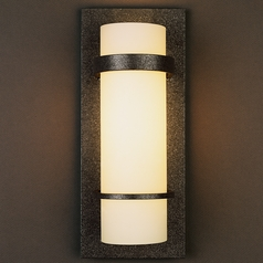 Hubbardton Forge Lighting Banded Natural Iron Sconce