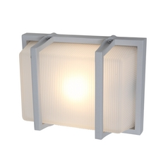 Access Lighting Neptune Satin Nickel Outdoor Wall Light
