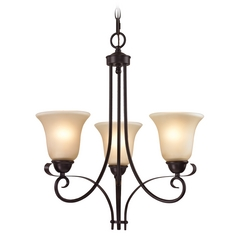 Cornerstone Lighting Brighton Oil Rubbed Bronze Chandelier